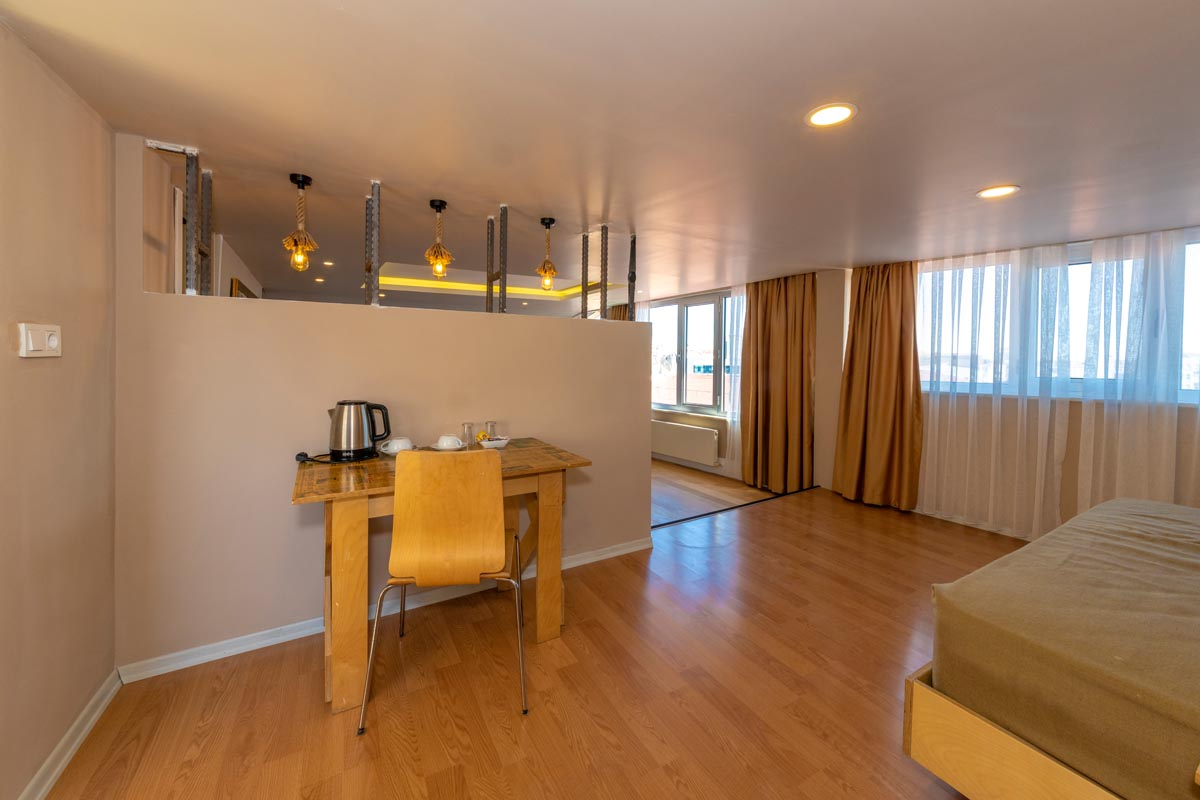 Duplex Suite with Sea View and Whirlpool