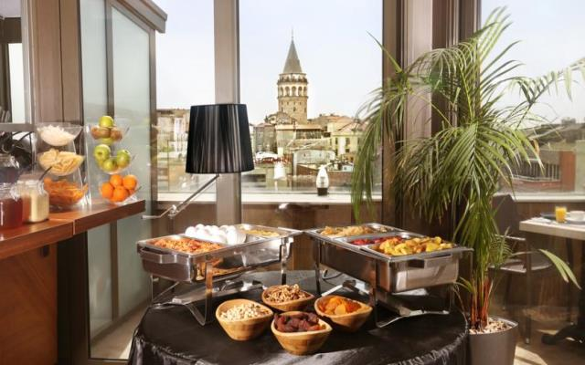 Deluxe Room with Galata Tower View