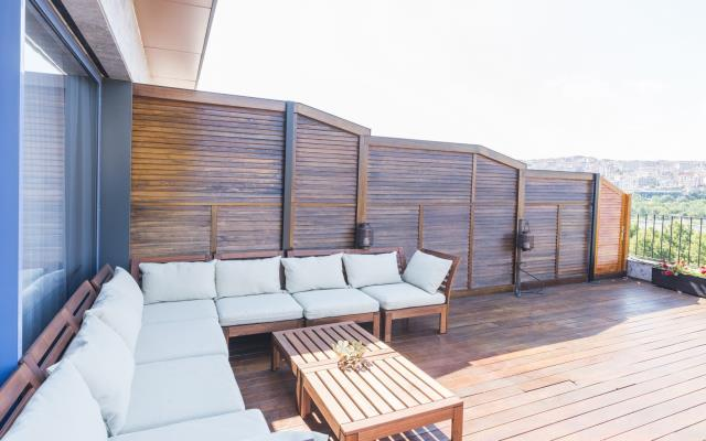 2 Terrace and Sea View Rooms - Interconnected - 6 PAX