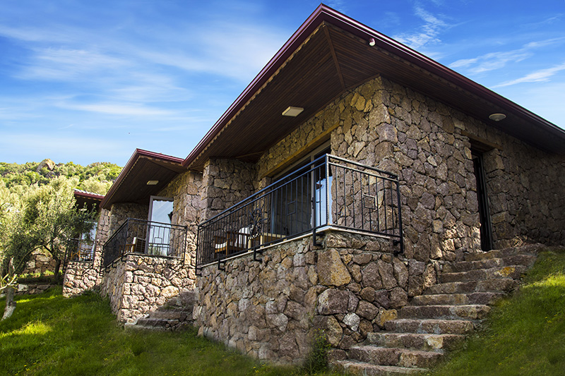 Deluxe Stone House with Sea View & Balcony