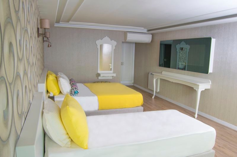 Superior Triple Room with Sea View,Garden Are