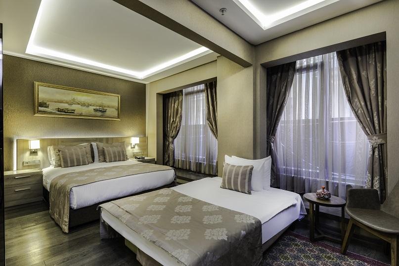 Superior Triple Room with Private Hammam