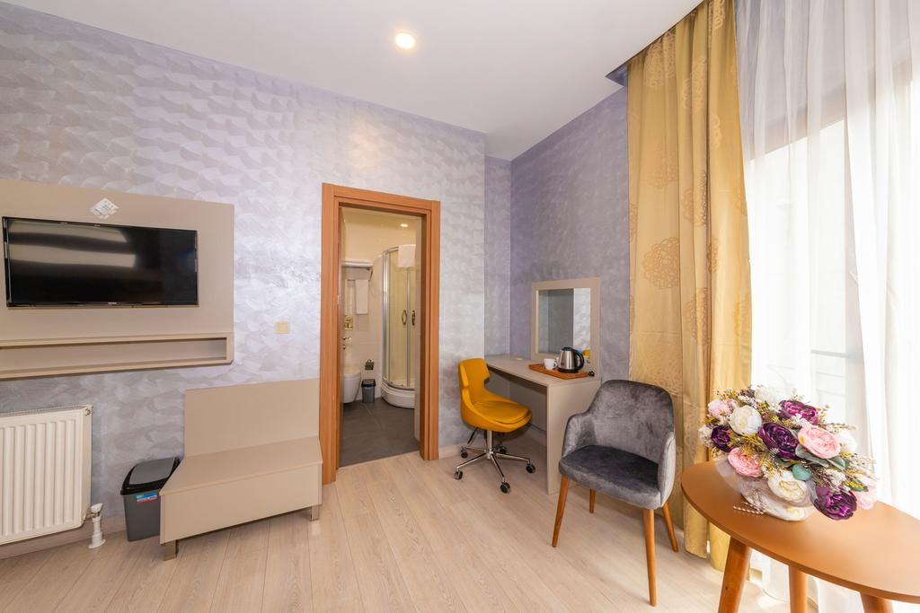 Corner Room with Sofa Bed